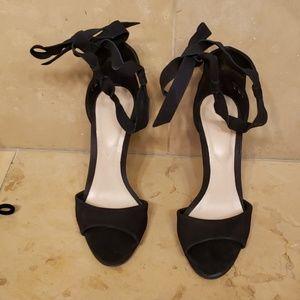 Aldo Shoes - HOT!!! Aldo Black faux suede stilettos!